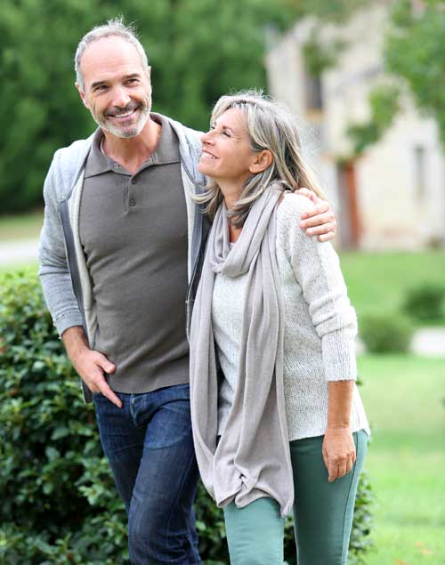 Healthy Mature Couple
